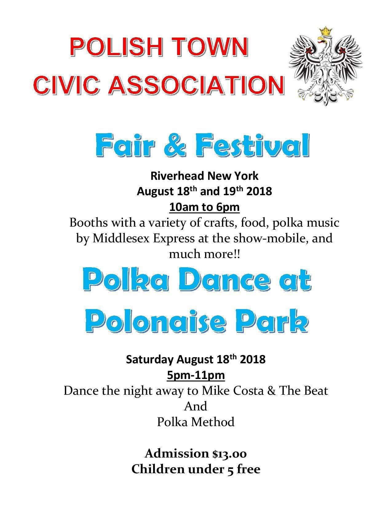 The 2018 Polish Town Fair | Polish Town Civic Association